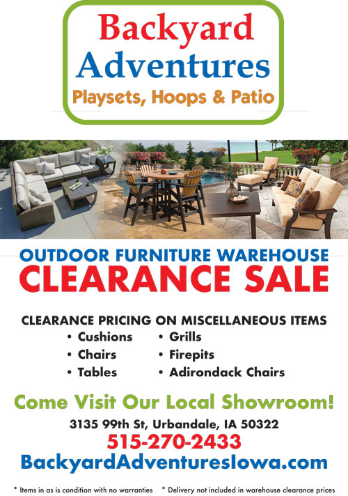 Outdoor Furniture Warehouse Clearance Sale