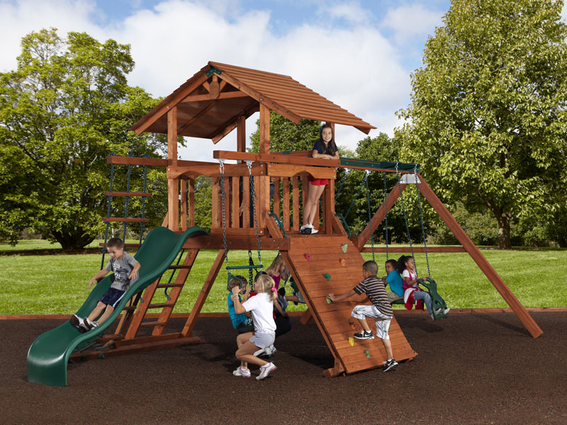 Superieur Backyard Adventures Mountaineer 1 Playset