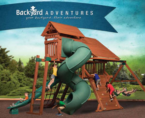 Backyard Adventures Wooden Play Sets